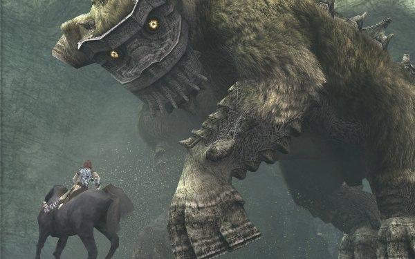 Jeux Vidéo Shadow Of The Colossus Cheval Créature Fond d'écran HD | Image
