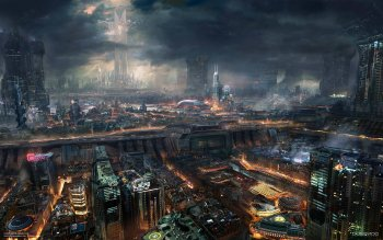 Science-Fiction - Großstadt Wallpapers and Backgrounds ID : 159081