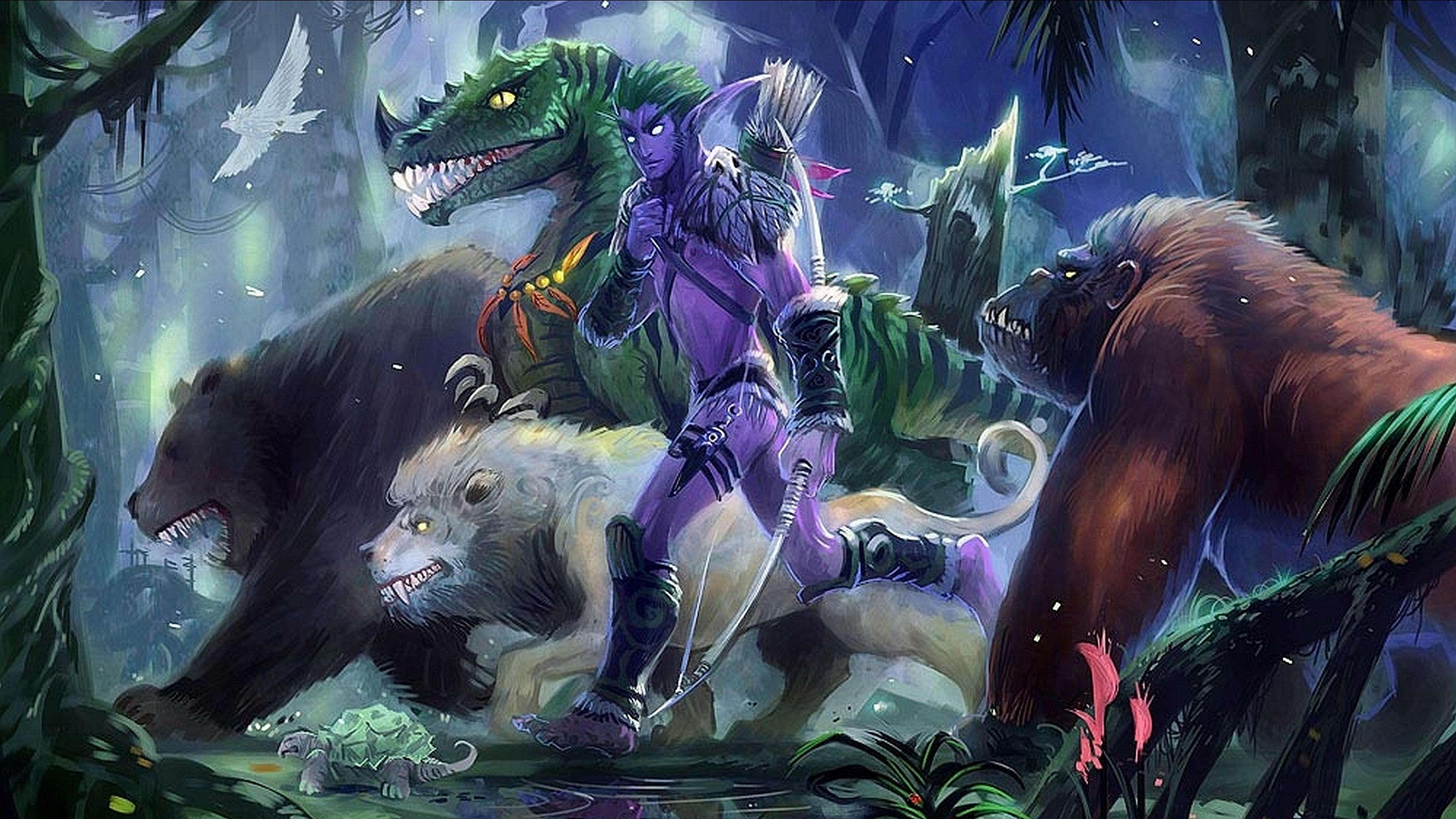 Jungle Wallpaper World Of Warcraft: Creature 4k Ultra HD Wallpaper And Background Image