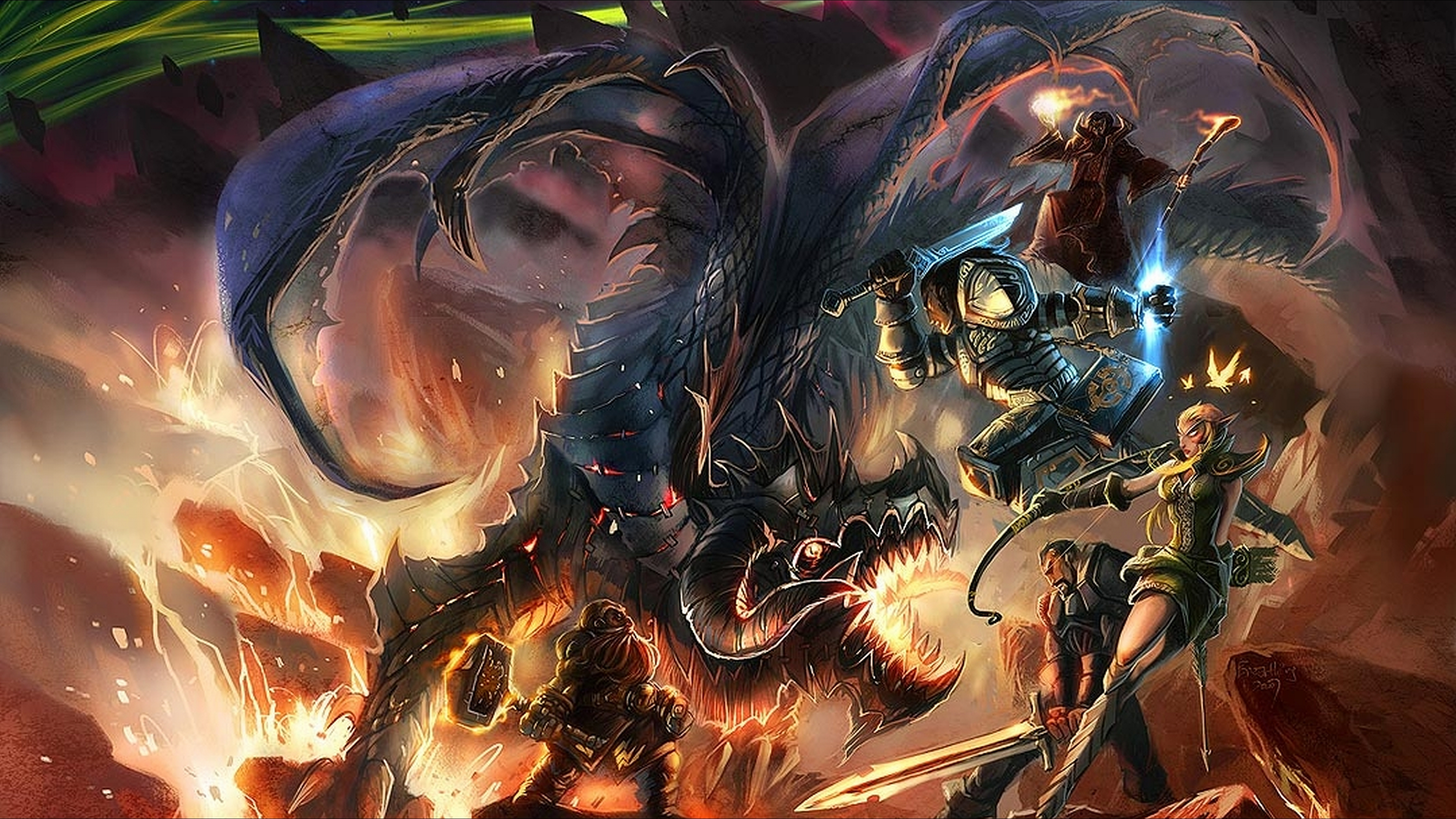 World Of Warcraft 4k Ultra HD Wallpaper