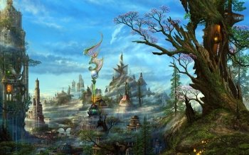 Fantasy - City Wallpapers and Backgrounds ID : 162663