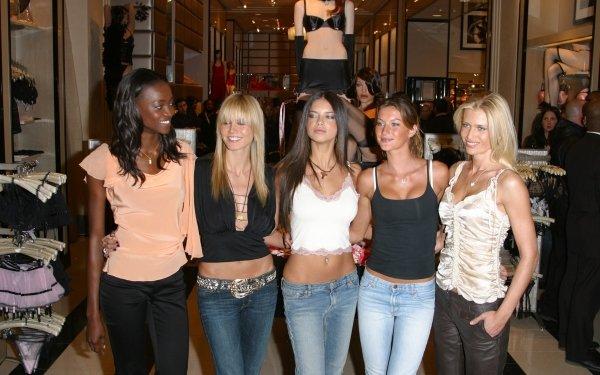 Women Model Models Oluchi Onweagba Heidi Klum Adriana Lima Gisele Bundchen HD Wallpaper   Background Image