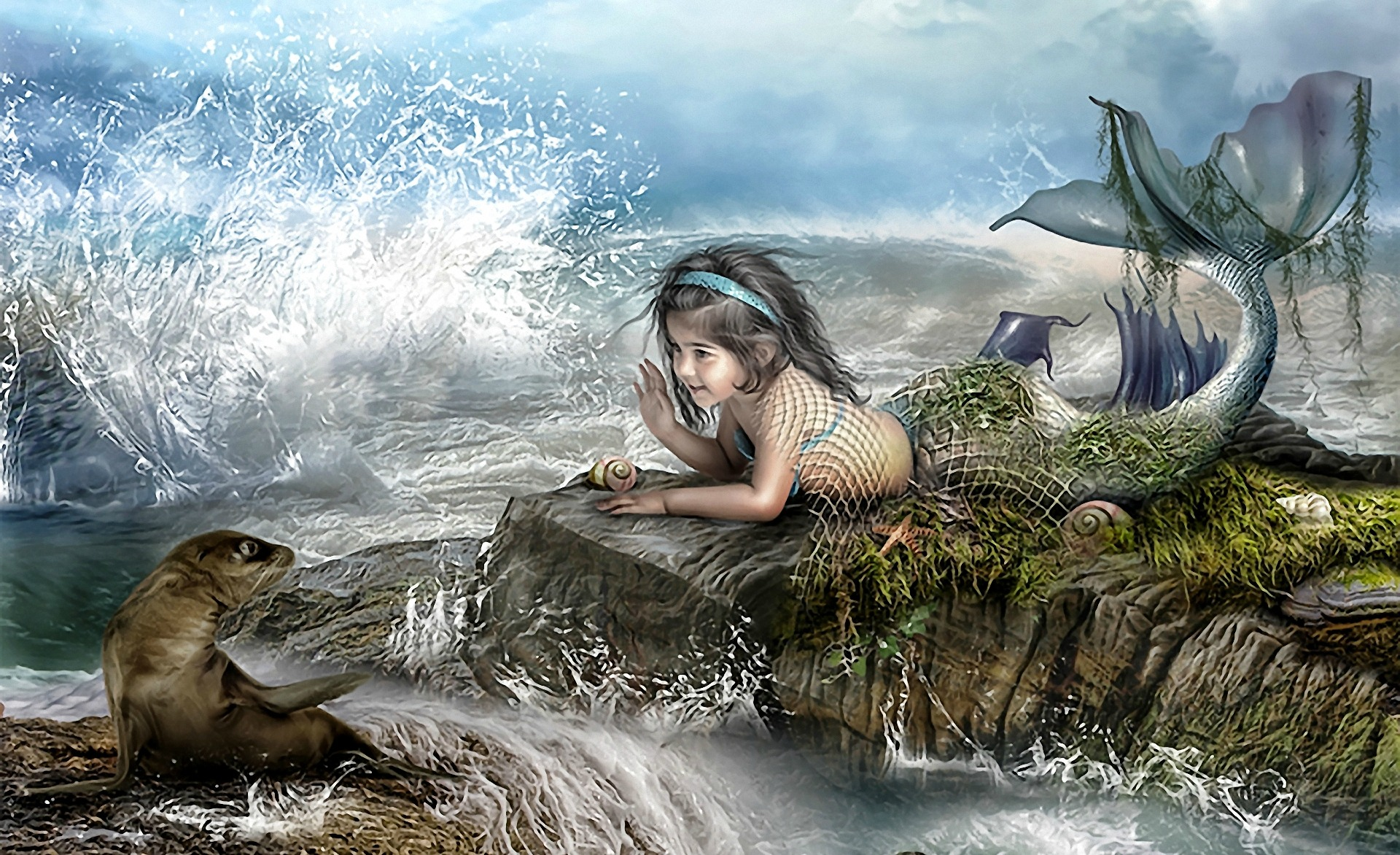 146 mermaid hd wallpapers backgrounds wallpaper abyss - Mermaid wallpaper hd ...