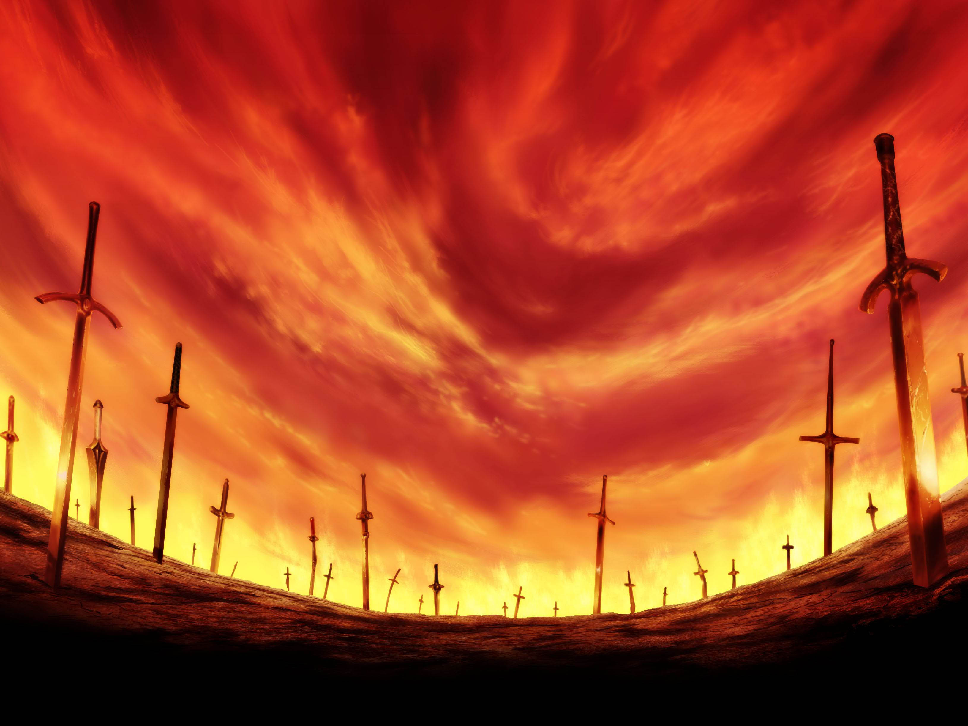 195 Fate Stay Night Unlimited Blade Works Hd Wallpapers Background Images Wallpaper Abyss