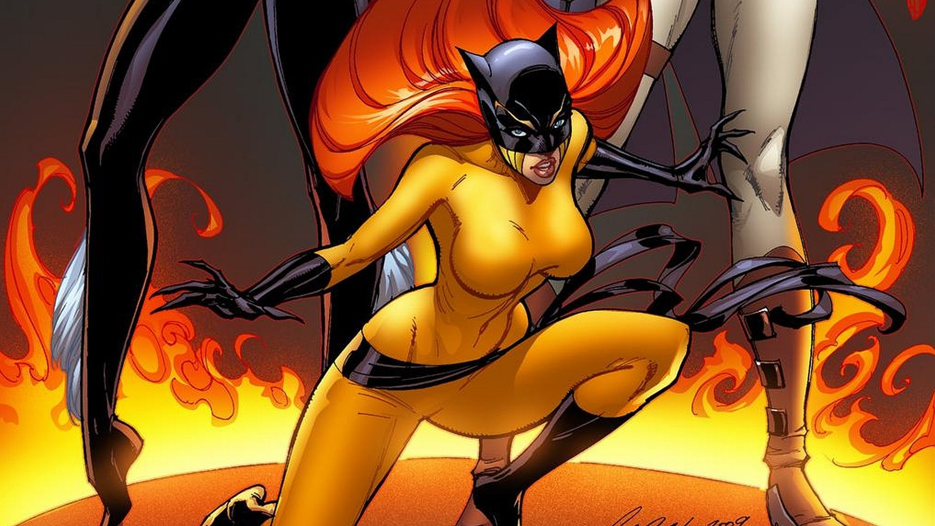 Comics - Marvel Comics  The Cat (Marvel Comics) Hellcat (Marvel Comics) Wallpaper