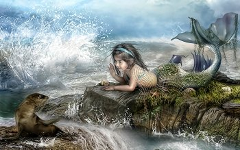 Fantasy - Mermaid Wallpapers and Backgrounds ID : 163481