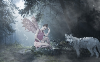 Fantasy - Fairy Wallpapers and Backgrounds ID : 163983