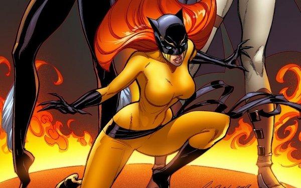 Bande-dessinées Marvel Comics The Cat Hellcat Fond d'écran HD | Image