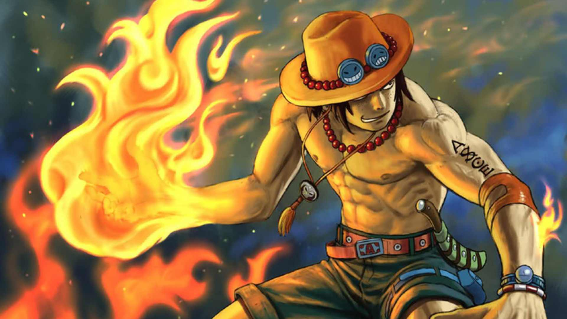 One piece ace iphone wallpaper