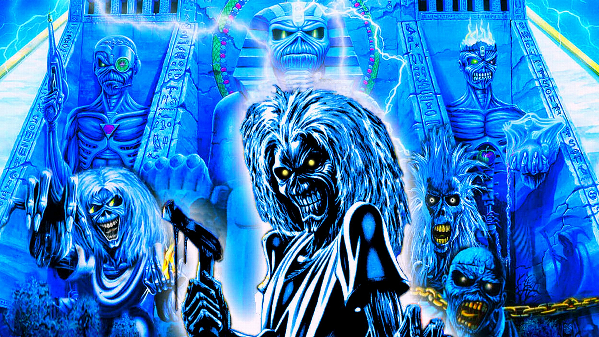 Iron Maiden Hd Wallpaper Background Image 1920x1080 Id