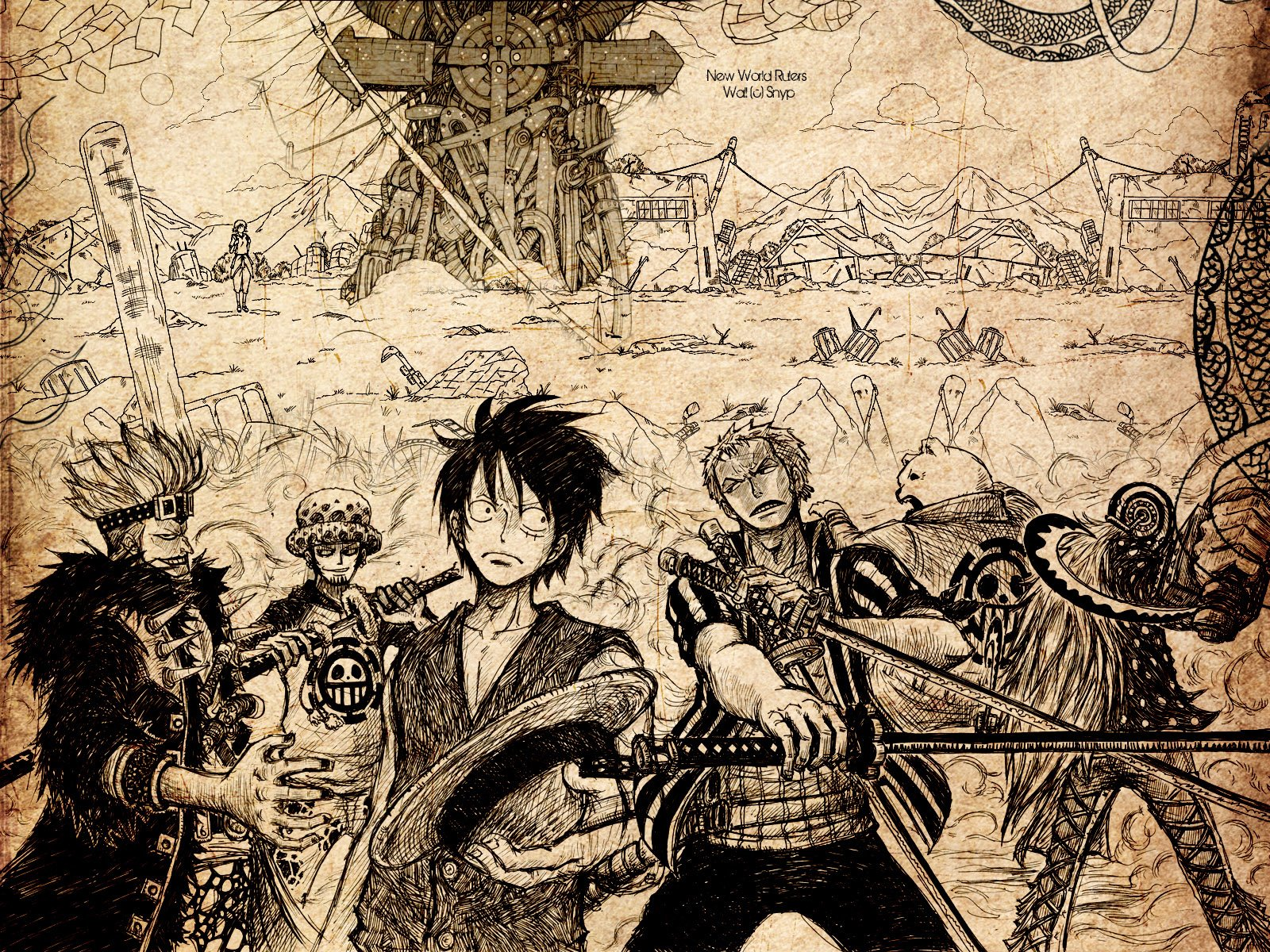 137 Trafalgar Law Hd Wallpapers Background Images Wallpaper Abyss