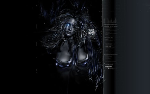 Sci Fi Women Cyborg HD Wallpaper | Background Image