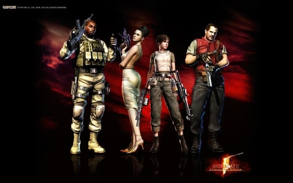 Video Game - resident evil Wallpapers and Backgrounds