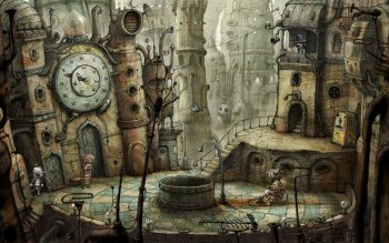 Компьютерная игра - Machinarium Wallpapers and Backgrounds ID : 167741