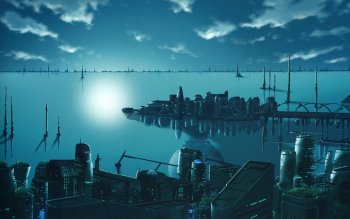 Science-Fiction - Großstadt Wallpapers and Backgrounds ID : 167831