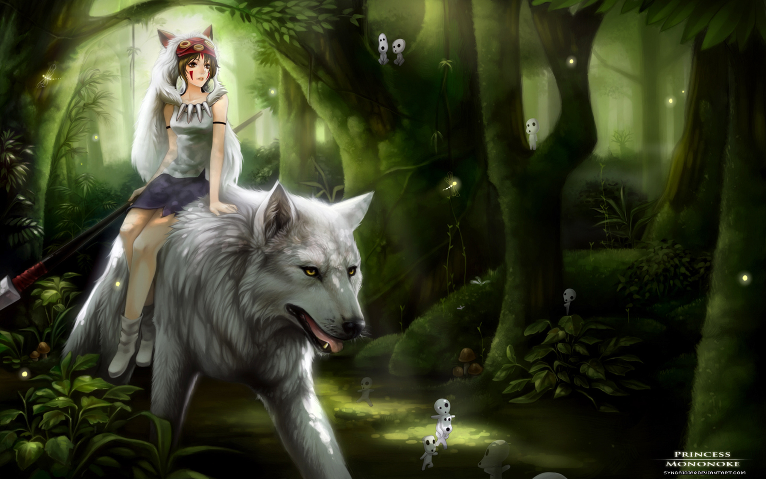 209 Princess Mononoke Hd Wallpapers Background Images Wallpaper Abyss