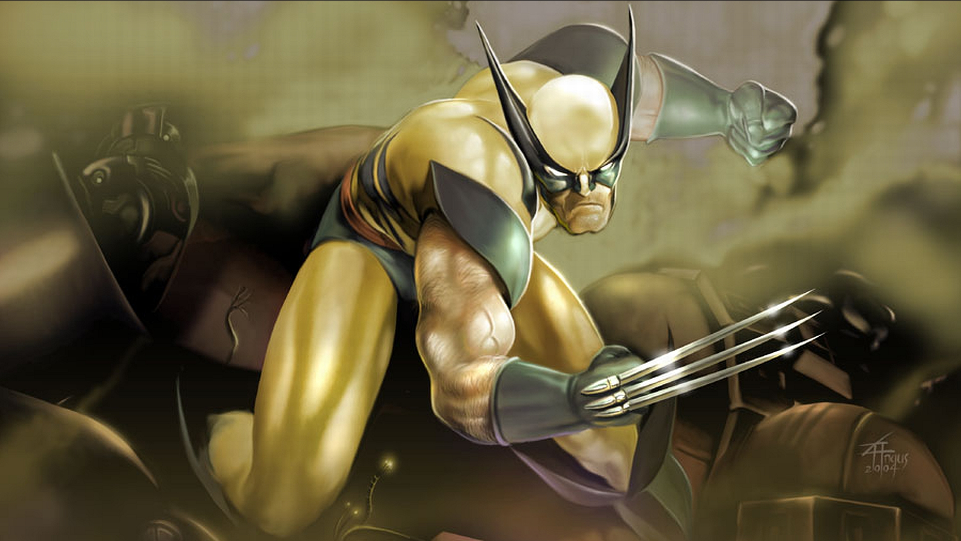 Wolverine Hd Wallpaper Background Image 1920x1080 Id 168973