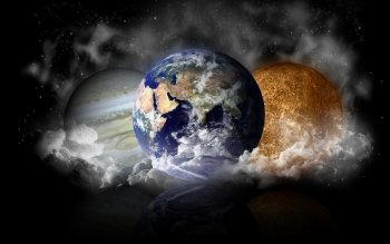 Artístico - Planetas Wallpapers and Backgrounds ID : 168583