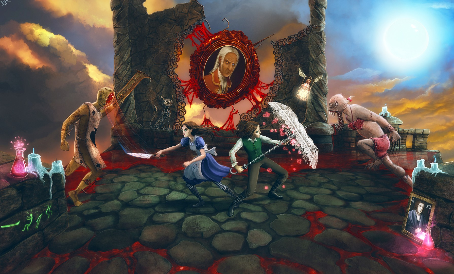 Alice: Madness Returns Wallpaper And Background