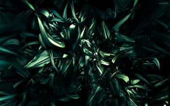 Abstract - Green Wallpapers and Backgrounds ID : 16983