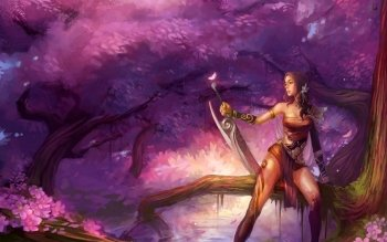 Fantasy - Women Warrior Wallpapers and Backgrounds ID : 170973