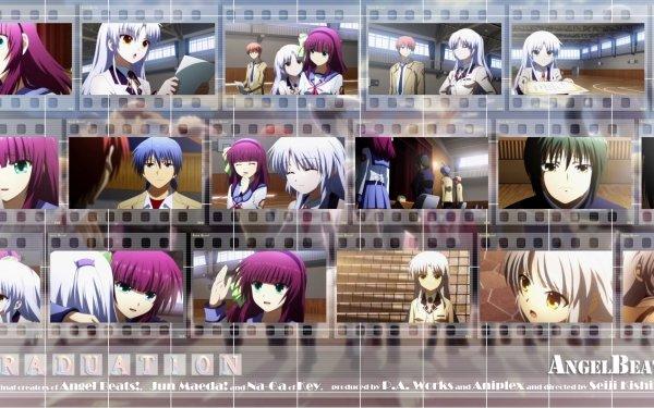 Anime Angel Beats! Kanade Tachibana Yuri Nakamura Ayato Naoi Hinata Hideki HD Wallpaper | Background Image