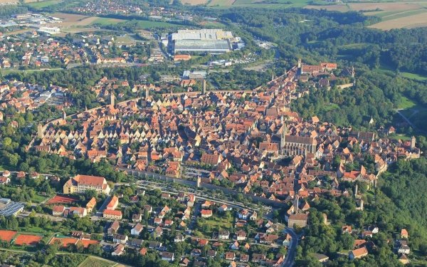 Man Made Town Towns HD Wallpaper   Background Image