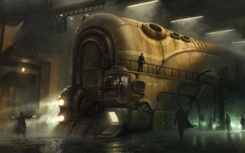 Sciencefiction - Steampunk Wallpapers and Backgrounds ID : 174611