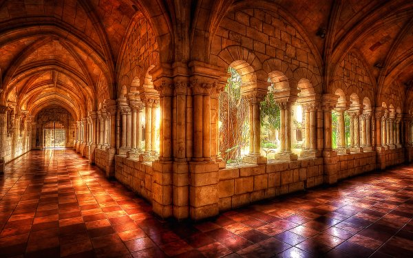 Religious Monastery HD Wallpaper | Background Image