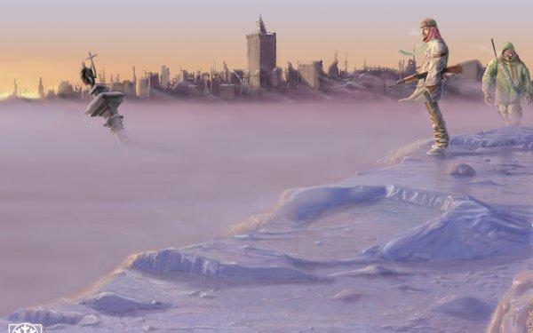 Sci Fi Post Apocalyptic Apocalypse Winter Ruin Hunter Warsaw Poland HD Wallpaper | Background Image