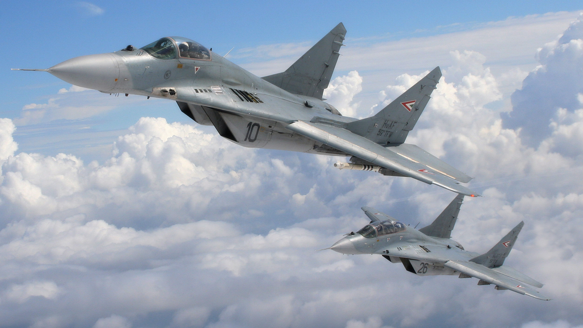 Mig 35 Hd Wallpaper: Mikoyan MiG-29 Full HD Wallpaper And Background Image