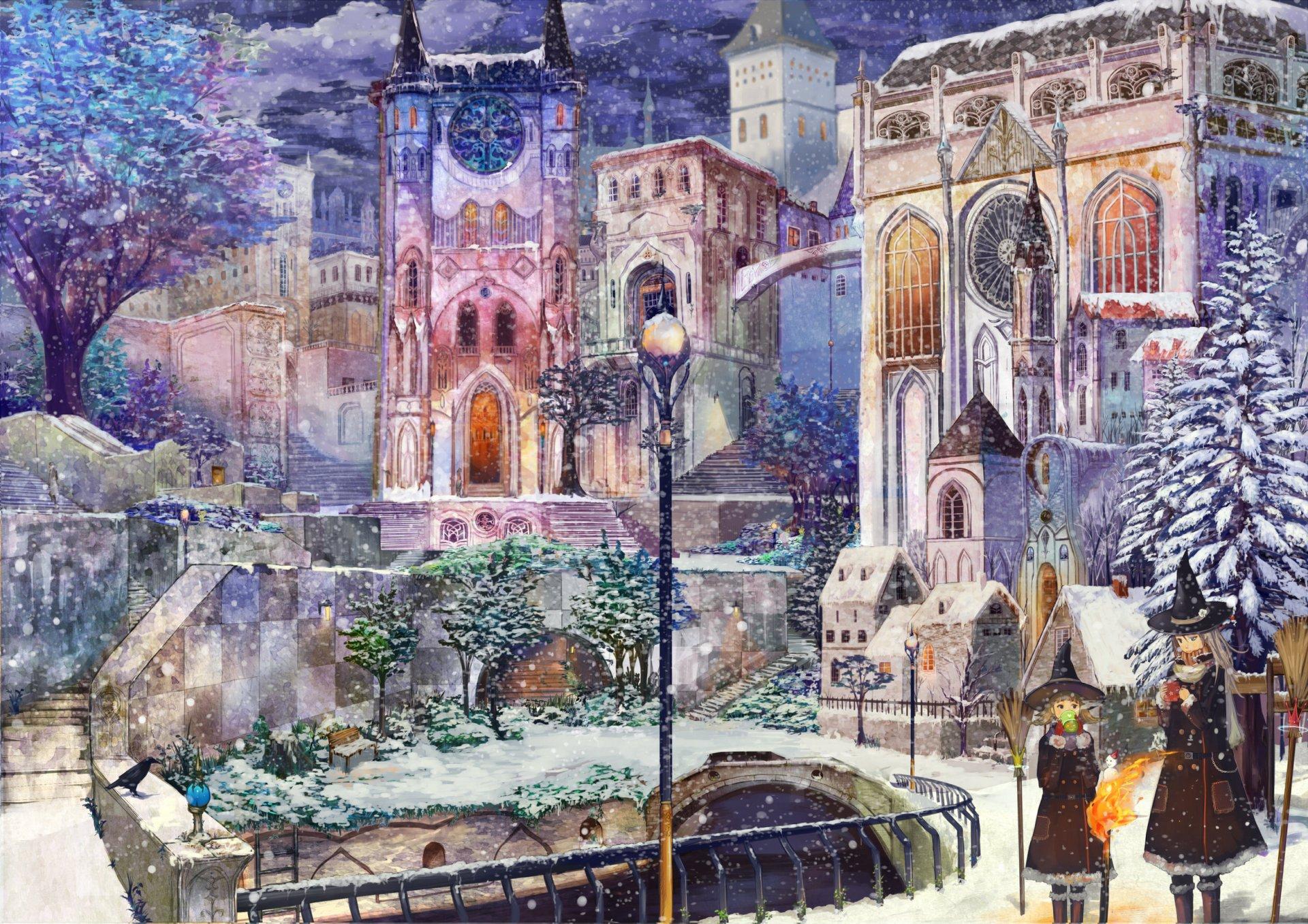 City HD Wallpaper | Background Image | 2500x1767 ...