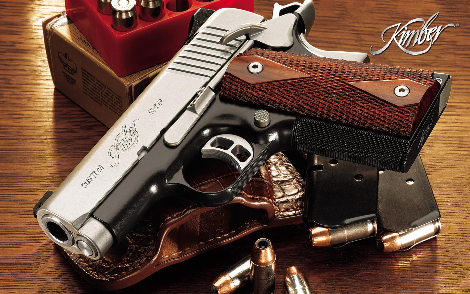 Kimber Pistol Full Hd Wallpaper And Background Image