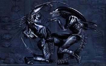 Preview Sci Fi - Alien Vs. Predator Art