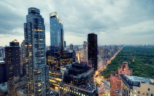 Man Made Manhattan Cities United States New York Central Park HD Wallpaper | Background Image