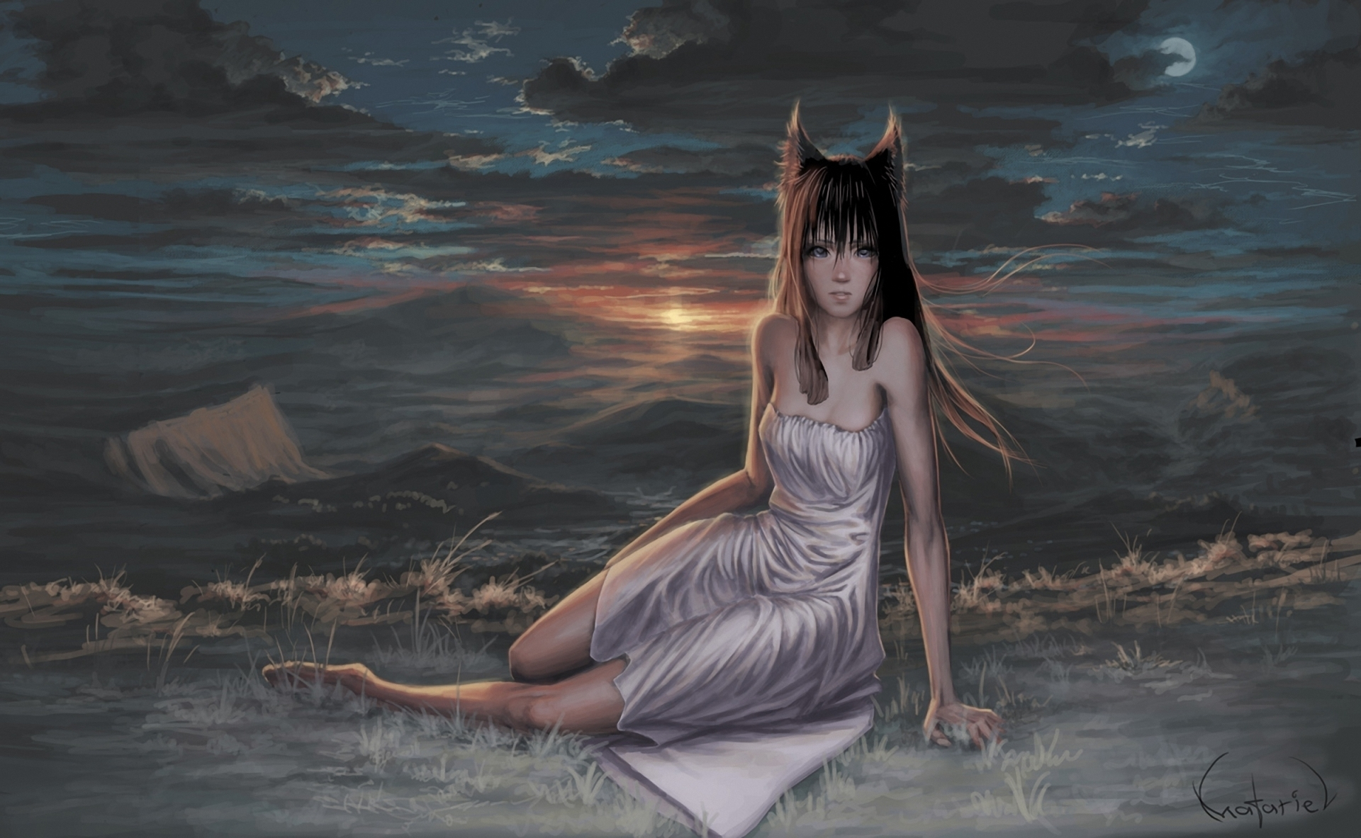 Spice and wolf full hd wallpaper and background image - Anime wolf wallpaper ...