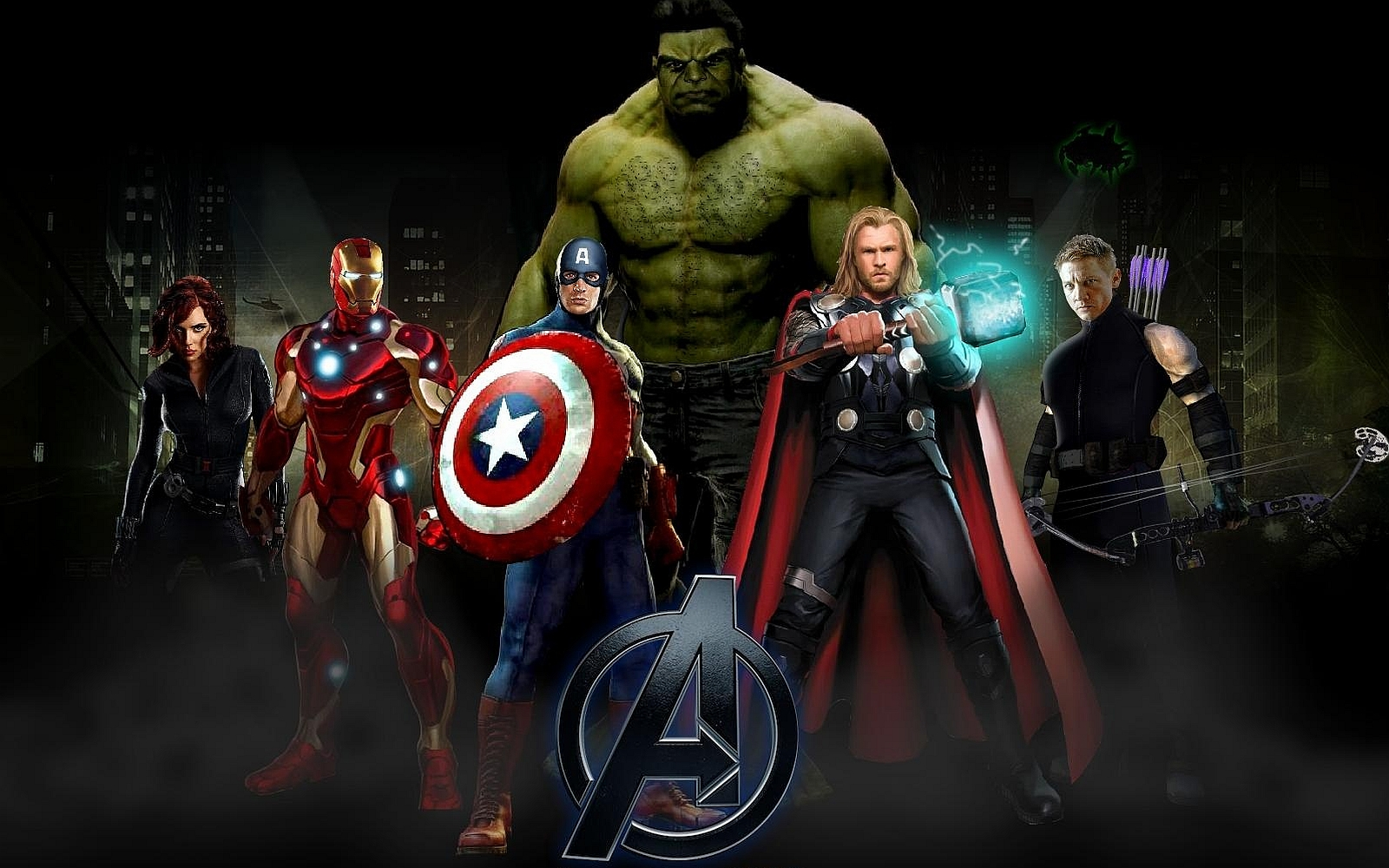 The Avengers Wallpaper and Background Image | 1600x1000 ...