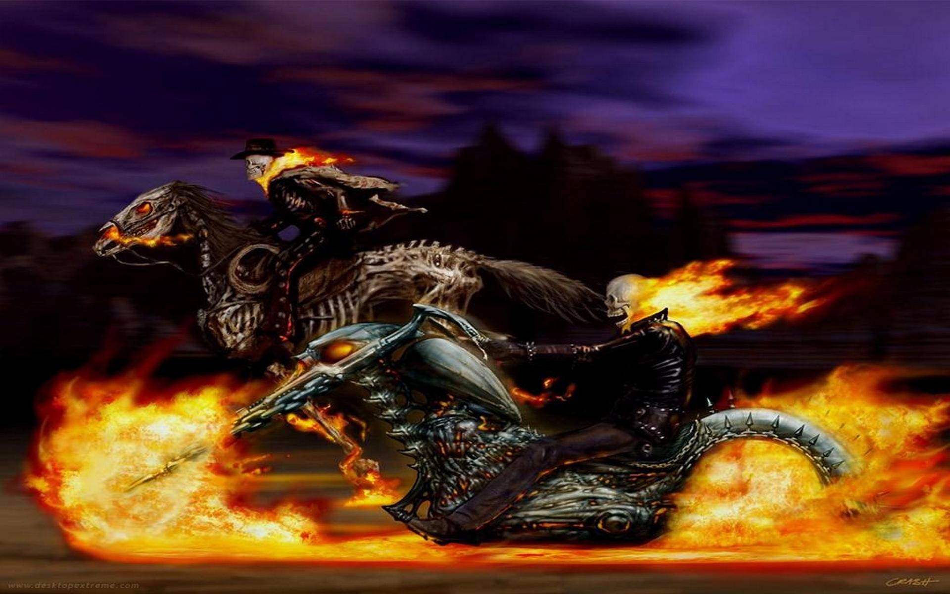Ghost Rider Fondo De Pantalla Hd Fondo De Escritorio
