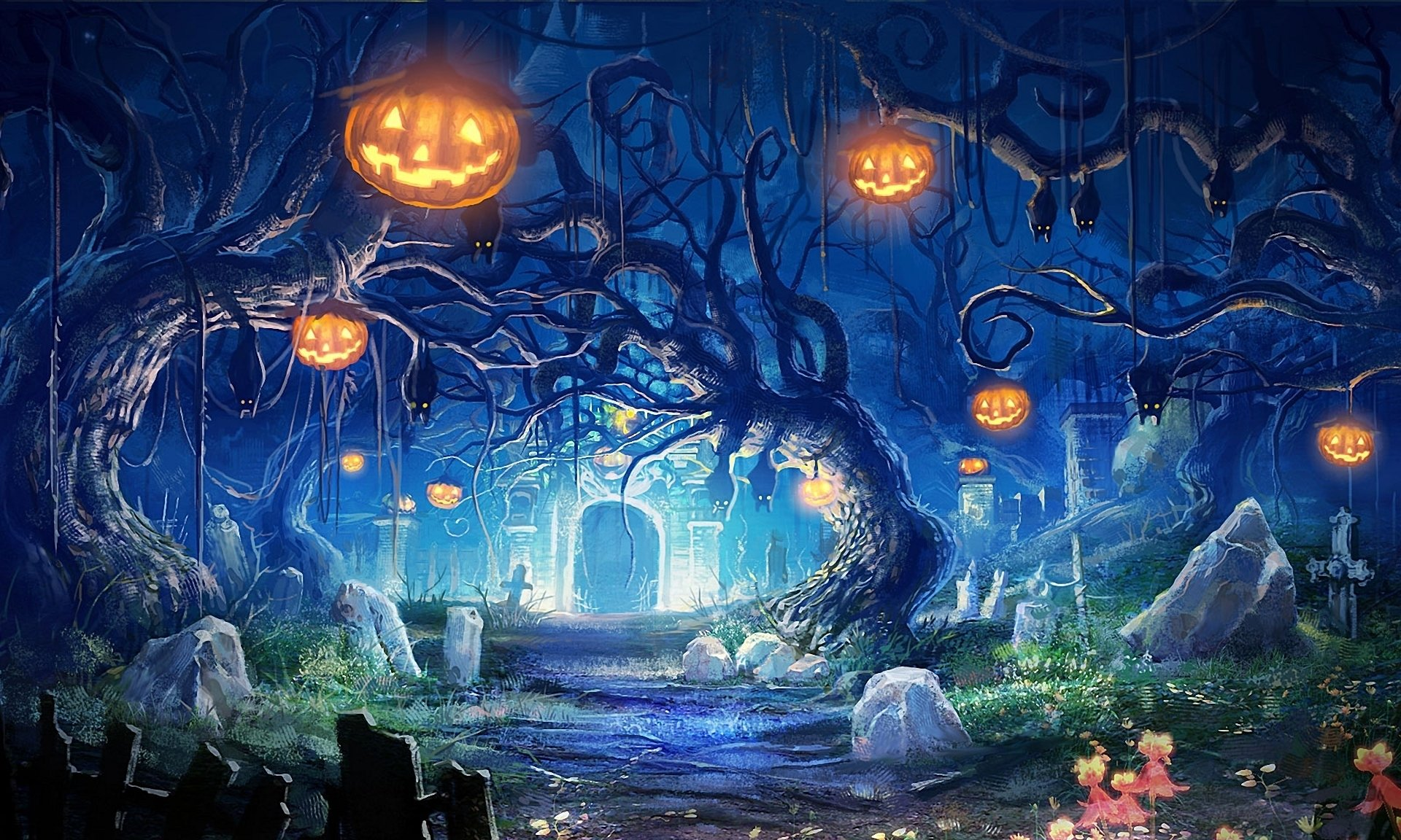Halloween Full HD Wallpaper and Background 1920x1152 ID186301