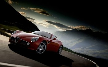 Vehicles - Alfa Romeo 8C Competizione Wallpapers and Backgrounds ID : 186853