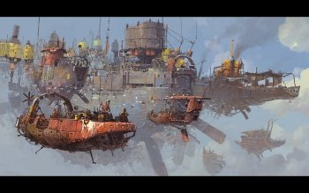 Sci Fi - Steampunk Wallpapers and Backgrounds ID : 188893