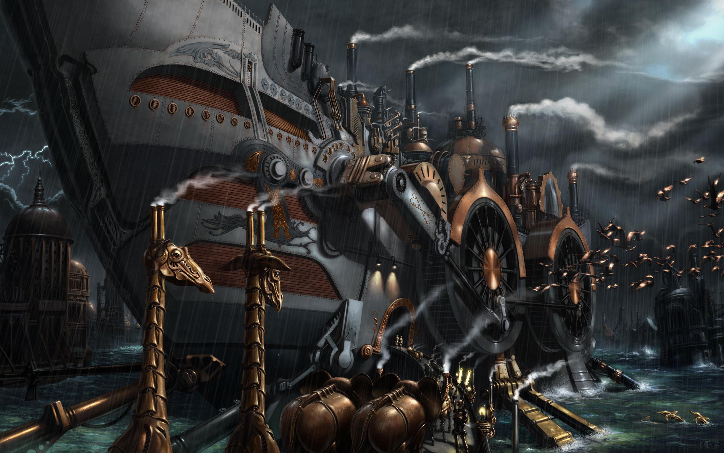 Steampunk Computer Wallpapers, Desktop Backgrounds