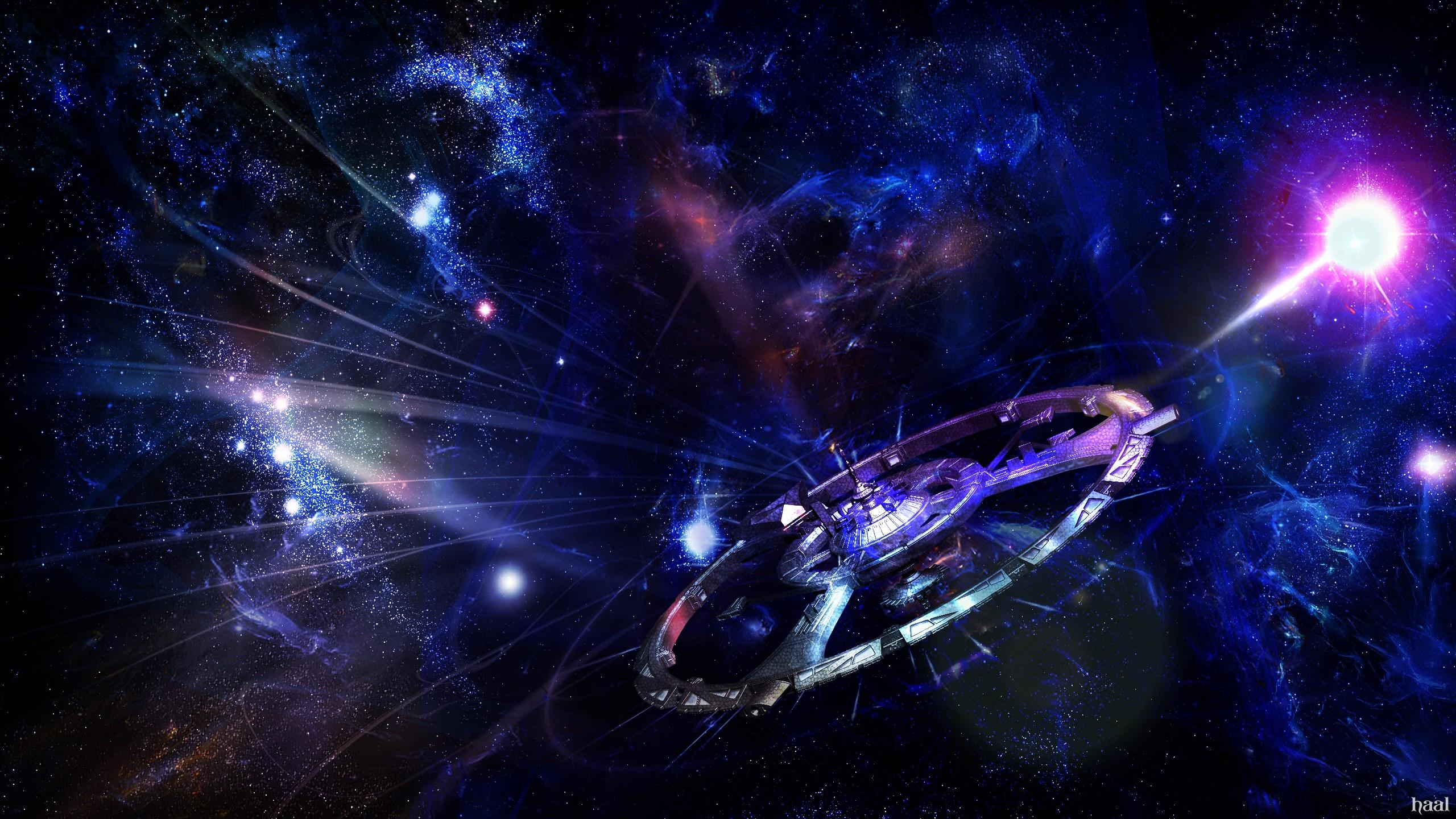 Sci Fi Wallpaper 2560x1440: Spaceship HD Wallpaper