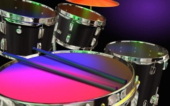 Musik - Drums Wallpapers and Backgrounds ID : 191881