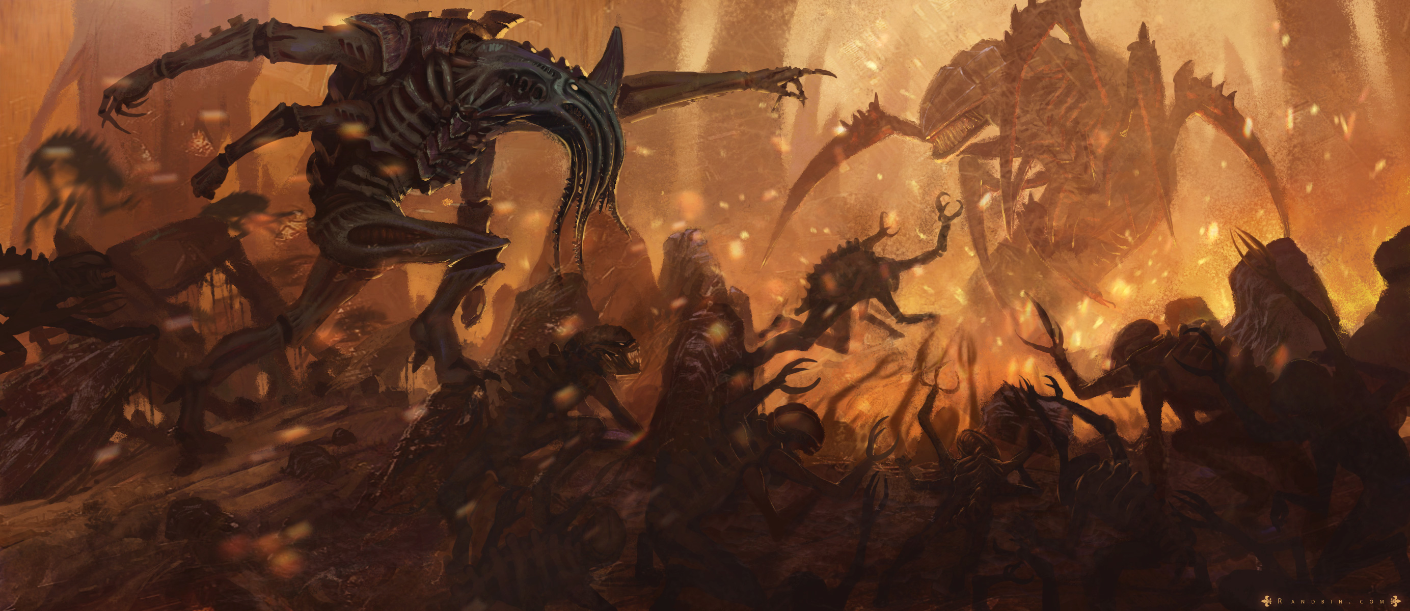 Warhammer 40K - The Tyranid Outcast Computer Wallpapers ...