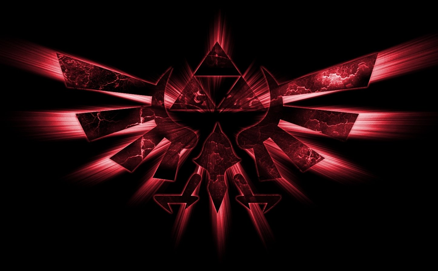 Emblem In Red Wallpaper And Background Image