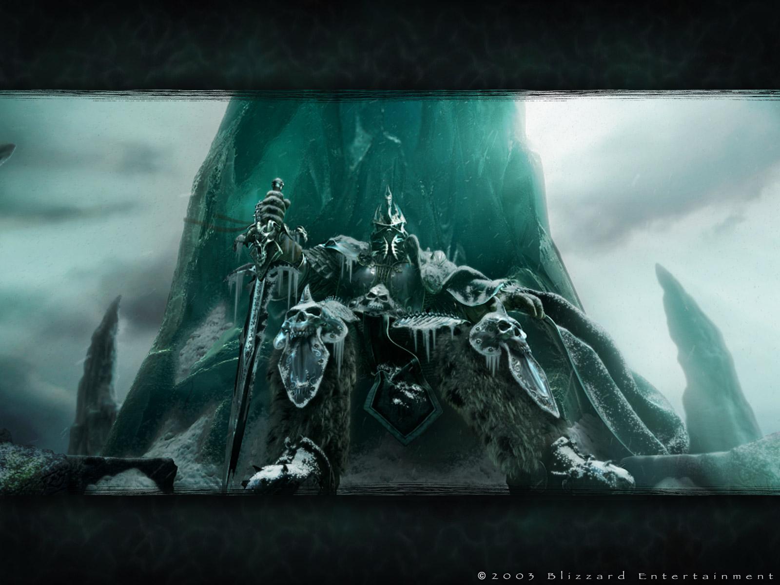 Videojuego - Warcraft  Arthas Fondo de Pantalla