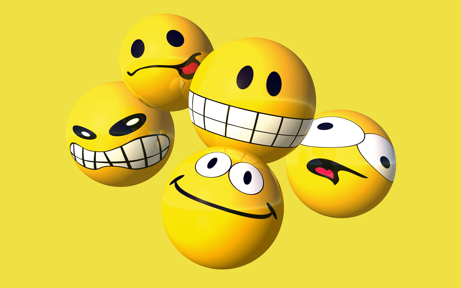 Smiley Full Hd Wallpaper And Achtergrond: Smiley Happy Full HD Wallpaper And Background Image