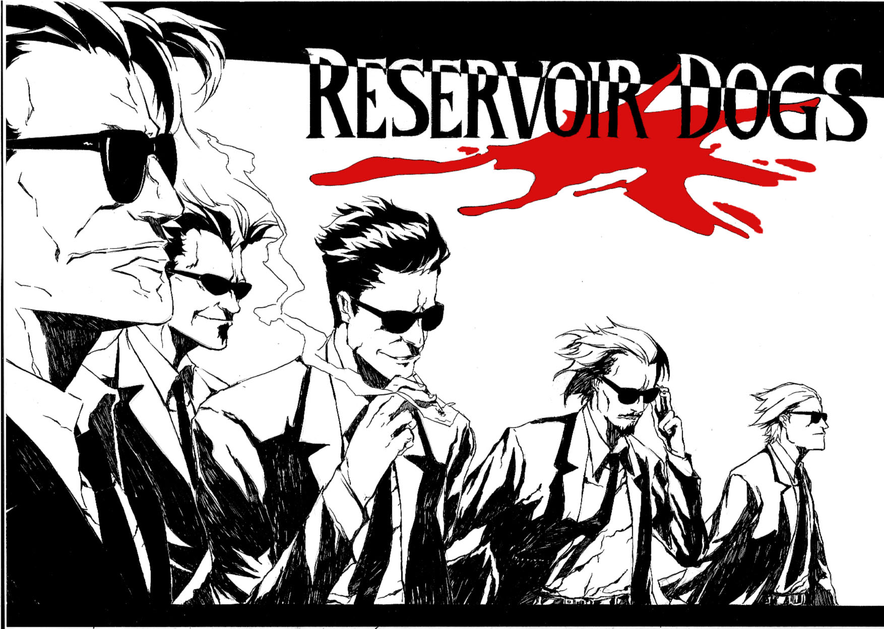 Movie  Reservoir Dogs Wallpaper