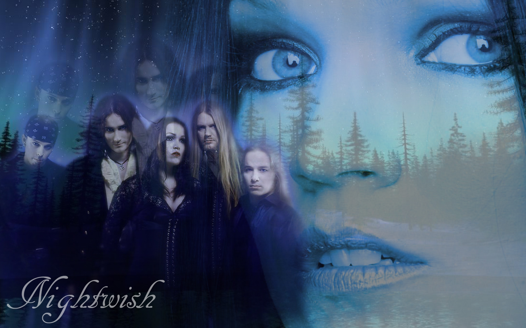 Nightwish Wallpaper And Hintergrund 1680x1050 Id 195211